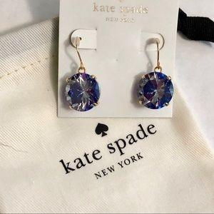 Last pair ! Kate spade dangle crystal earrings